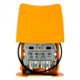 Amplificador de mastil3 entradas: BIII-UHF-FIMIX-FLMIXTeleves 561521Nanokom (LTE700,2er Dividendo digital)