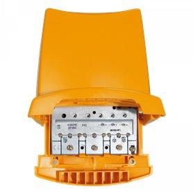 Amplificador de mastil 2 entradas: BIII/DAB/UHF-UHFTeleves 536040Nanokom