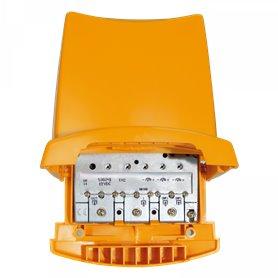 Amplificador de mastil 3 entradas: BIII/DAB-UHF-UHFTeleves 536041Nanokom