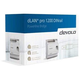 Powerlinedlan pro 1200 DINrail PLCDevolo 9569