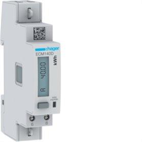 Central de medida monofasicaHager medida directa 40A ECM140D