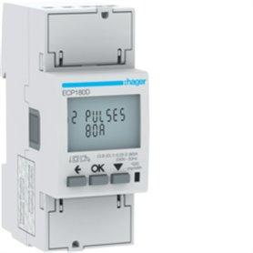 Central de medida monofasicaHager medida directa 80A ECP180D