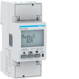 Central de medida monofasicaHager medida directa 80A ECR180D