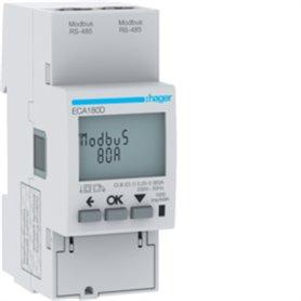 Central de medida monofasicaHager medida directa 80A ECA180D