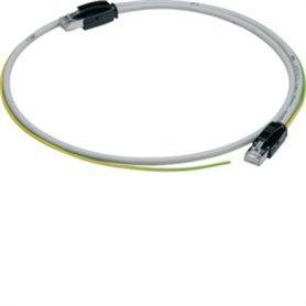 Cable ModBus con conector RJ45 y cable Tierra 2mHager AgardioHTG472H