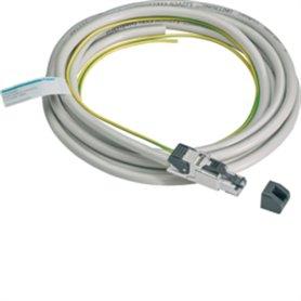 Cable ModBus con conector RJ45 y cable Tierra 5mHager AgardioHTG474H