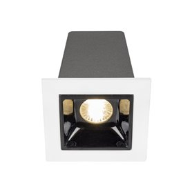Empotrable de techoHofflightsItaly 1.1000.0112blanco/negro 1 lampara 2w 3000K (calida)