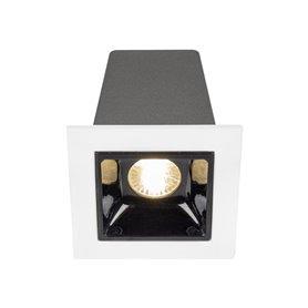 Empotrable de techoHofflightsItaly 1.1002.0112blanco/negro 1 lampara 2w 3000K (calida)
