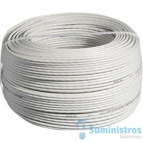 Cable BUS 2 Hilos scs blanco BTICINO 336904 (Rollo 200 Mt)