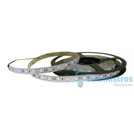 ROLLO LED 24V IP20 3528 AZUL 4,8W/MT * *