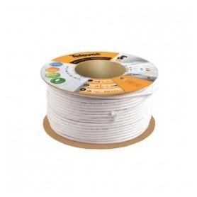 Cable antena Televes 2141 T100  pvc Blanco (rollo 100mT)