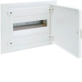 Cuadro electrico empotrable HAGER GOLF VF112PEB con puerta opaca