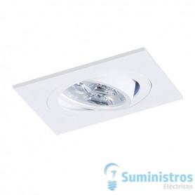 Empotrablecuadrado orientable de techo BPM Lighting MINI CATLI 4211Blanco