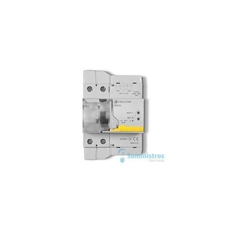 Interruptor diferencial rearmable 2 polos 40a circutor rec3-2p-40-30m