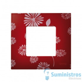 FUNDA 1 ELEMENTO RED/WHITE