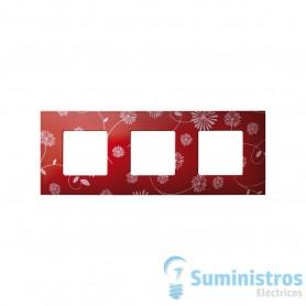 FUNDA 3 ELEMENTO RED/WHITE