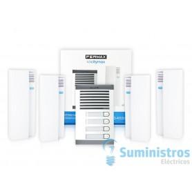 Kit portero electronico Fermax 6204 citimax 4  lineas