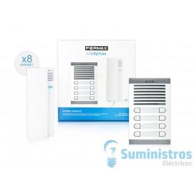 Kit portero electronico Fermax 6208 citimax 8  lineas