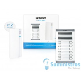 Kit portero electronico Fermax 6212 citimax 12  lineas