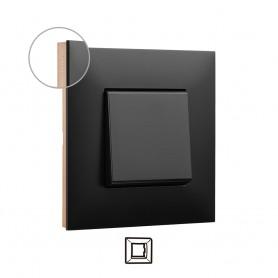Marco 1 elemento  Legrand 741071 serie Valena Next color Dark cobre