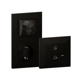 Starter Pack Legrand 741860 serie Valena Next with Netatmo color Dark