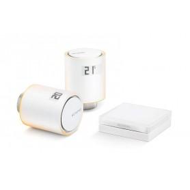 Pack Valvulas wifi inteligente Netatmo NAV-ES para calefaccion colectiva
