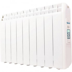 Radiador Electrico Bajo Consumo 990 W Farho XP ( Xana Plus ) ··· Radiador Electrico Programable y WIFI · Emisor Térmico Fluido D