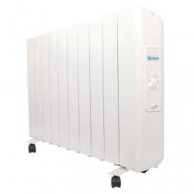 Radiador electrico analogico Farho ECORU8 serie ECO R ULTRA blanco 8 modulos 1330W