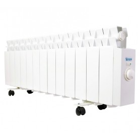 Radiador electrico Farho LPR13serie LPR 13blanco 13 modulos 975W