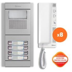 Kit comunitario de audio 8 viviendas Golmar E5208/T-562