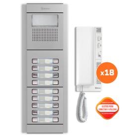 Kit comunitario de audio 18 viviendas Golmar E5218/T-562