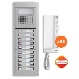 Kit comunitario de audio 20 viviendas Golmar E5220/T-562
