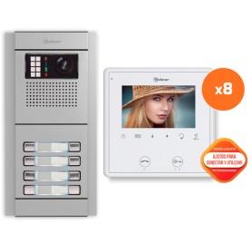 Kit comunitario de video 8 viviendas Golmar E8208/VESTA2SE