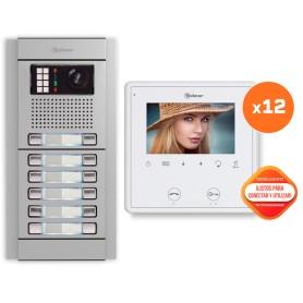 Kit comunitario de video 12 viviendas Golmar E8212/VESTA2SE