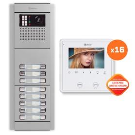 Kit comunitario de video 16 viviendas Golmar E8216/VESTA2SE