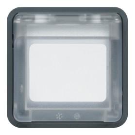 Adaptador para mecanismos Systo HAGER Cubyko WNA450 IP55