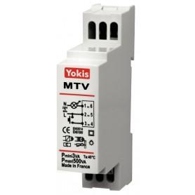 Telerruptor regulador cableado Yokis By Golmar MTV500M