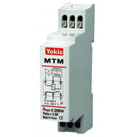 Telerruptor minutero de escaleras cableado Yokis By Golmar MTM500M