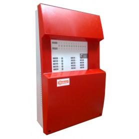 Central de deteccion de incendios convencional GOLMAR CCD-112  DE 12 ZONAS 21111040 (Serie CCD-100)