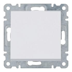 Conmutador Hager Lumina Intense WL0020 color Blanco