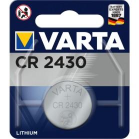 Pila boton alcalina Varta CR-2430 Litio 3V 280mAh