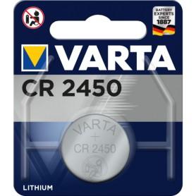 Pila boton alcalina Varta CR-2450 Litio 3V 560mAh