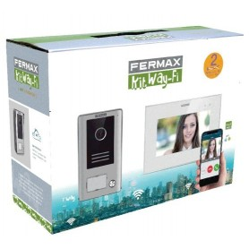 Kit videoportero Wifi Fermax 1431  Way-Fi Slim 7""
