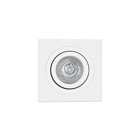 Empotrable cuadrado orientable de techo Faro Barcelona RADÓN-C 43396 blanco