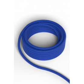 Cable decorativo textil  CALEX 940230 2x0.75mm2 1.5MT Azul