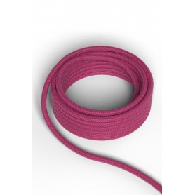 Cable decorativo textil  CALEX 940226 2x0.75mm2 1.5MT Rosa