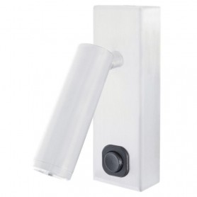 Lampara lector Exo Lighting TOSCANA 842A-L0103B-01 Blanco