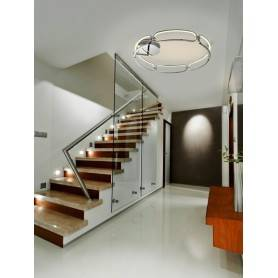 Plafon decorativo SCHULLER COLETTE XL 786577 Cromo