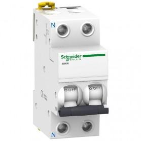 Interruptor Automatico IK60N 1P+N 10A  Schneider A9K17610