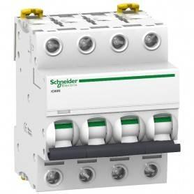 Interruptor Automatico C60N 4P 6A  Schneider A9F79406
